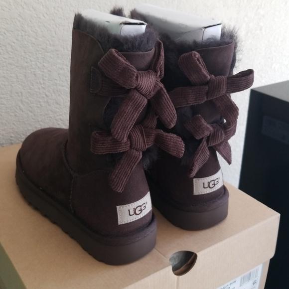 Ugg Australia Bailey Bow Corduroy Boots